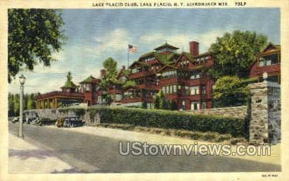 Lake Placid Club - New York NY Postcard
