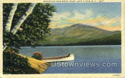 Whiteface - Lake Placid, New York NY Postcard