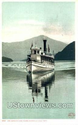 STR. Doris - Lake Placid, New York NY Postcard