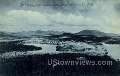 Mt. Whitney - Lake Placid, New York NY Postcard