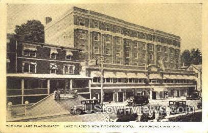 Lake Placid-Marcy - New York NY Postcard