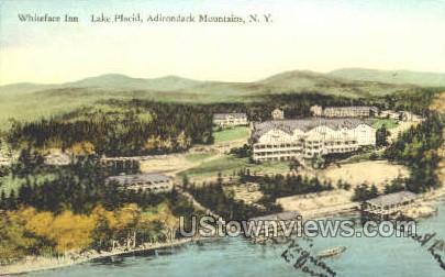 Whiteface Inn - Lake Placid, New York NY Postcard