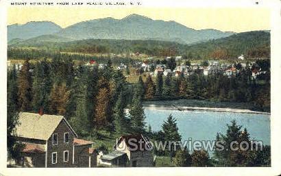 Mount McIntyre - Lake Placid, New York NY Postcard