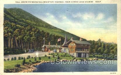 Toll House - Lake Placid, New York NY Postcard
