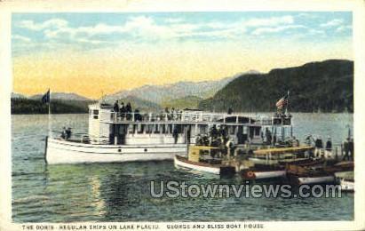 The Doris - Lake Placid, New York NY Postcard
