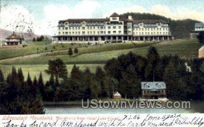 Grand View Hotel - Lake Placid, New York NY Postcard