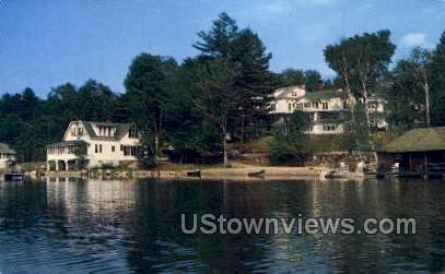 Mirror Lake Inn - Lake Placid, New York NY Postcard