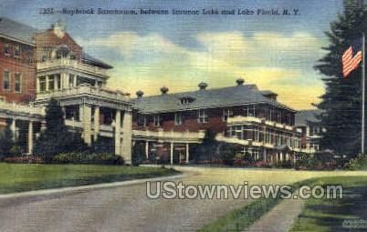 Raybrook Sanatorium - Lake Placid, New York NY Postcard