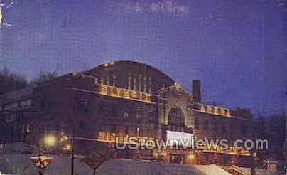 Olympic Arena - Lake Placid, New York NY Postcard