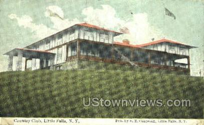 Country Club - Little Falls, New York NY Postcard
