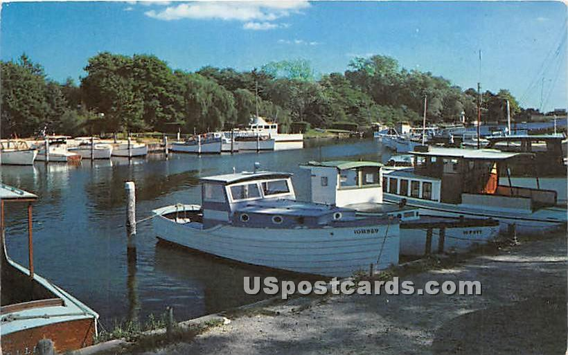Boating Paradise - Long Island, New York NY Postcard