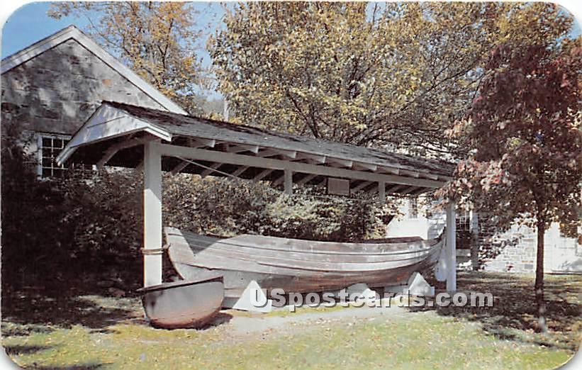 Whale Boat, Washington Navy Yard 1871 - Long Island, New York NY Postcard