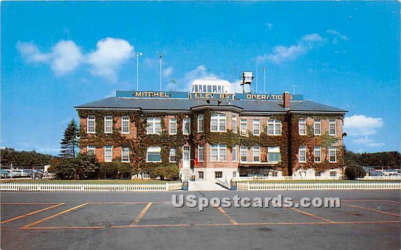 Operations Building, Mitchel Air Force Base - Long Island, New York NY Postcard