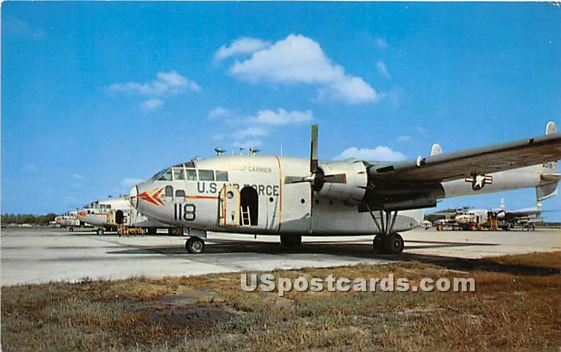 Troop Carriers, Mitchel Air Force Base - Long Island, New York NY Postcard