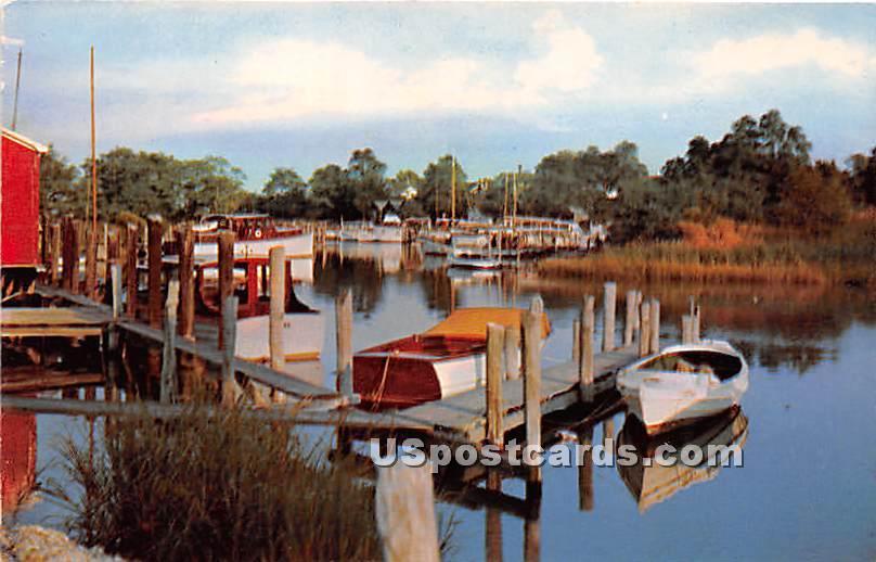 Pleasure Island - Long Island, New York NY Postcard
