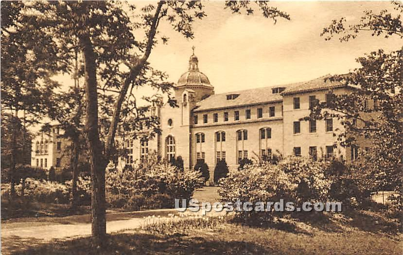 Convent of Our Lady of the Cenacle - Lake Ronkonkoma, New York NY Postcard