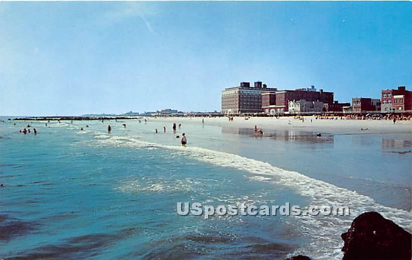 Long Beach - Long Island, New York NY Postcard