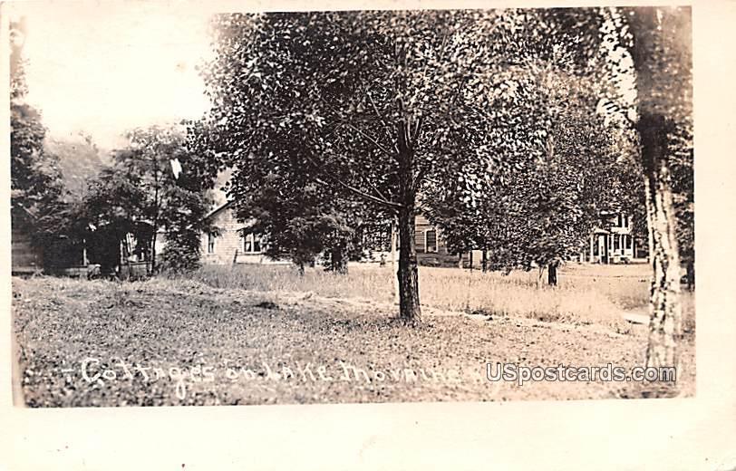 Cottages - Lake Movalhe, New York NY Postcard