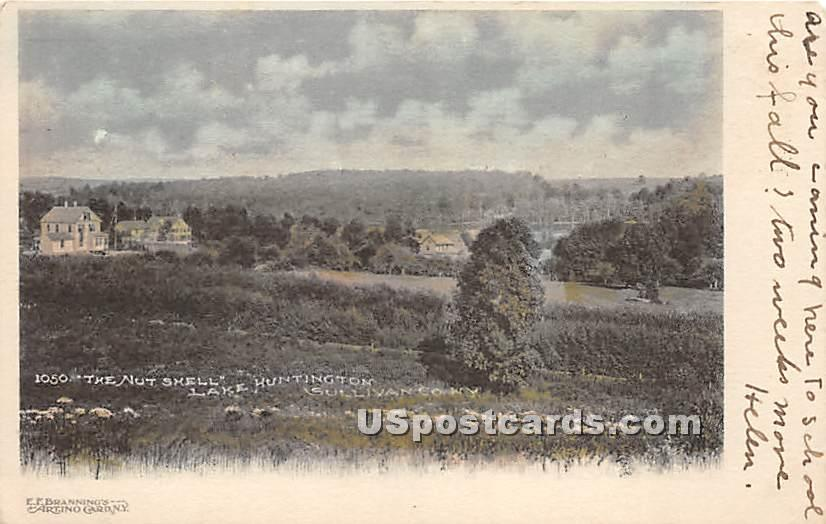 The Nut Shell - Lake Huntington, New York NY Postcard