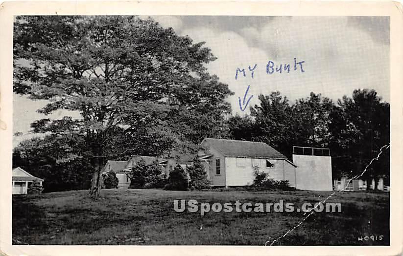 Boys' Campus - Livingston Manor, New York NY Postcard
