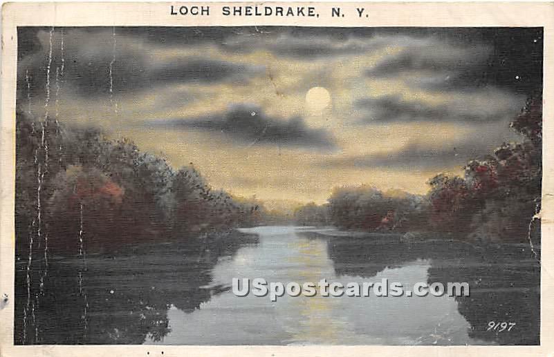 Water View - Loch Sheldrake, New York NY Postcard