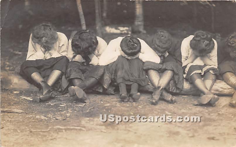 Women - Loch Sheldrake, New York NY Postcard