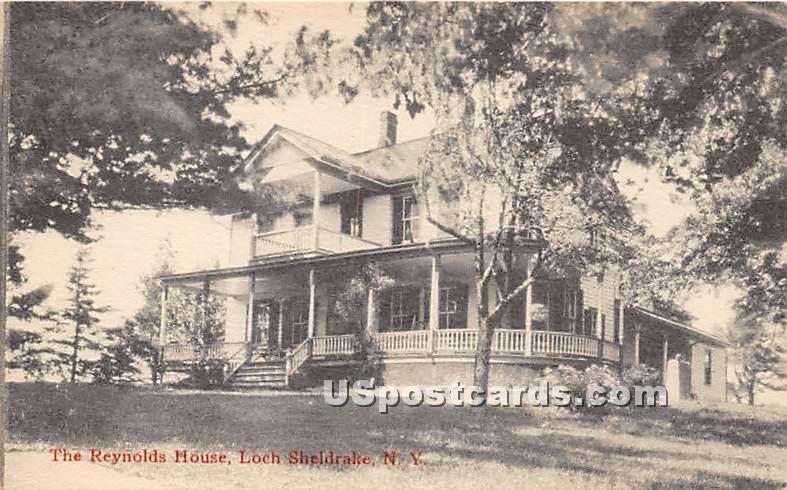 Reynolds House - Loch Sheldrake, New York NY Postcard