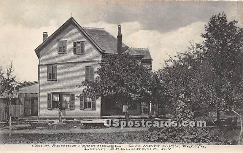 Cold Spring Farm - Loch Sheldrake, New York NY Postcard