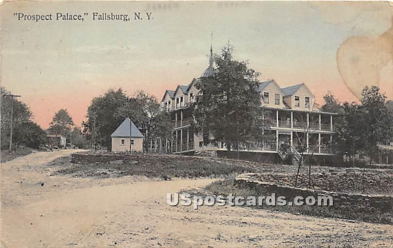 Prospect Palace - Loch Sheldrake, New York NY Postcard