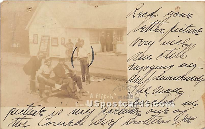 A Hitch - Loch Sheldrake, New York NY Postcard