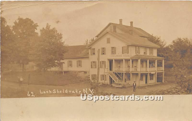Sheldrake House - Loch Sheldrake, New York NY Postcard