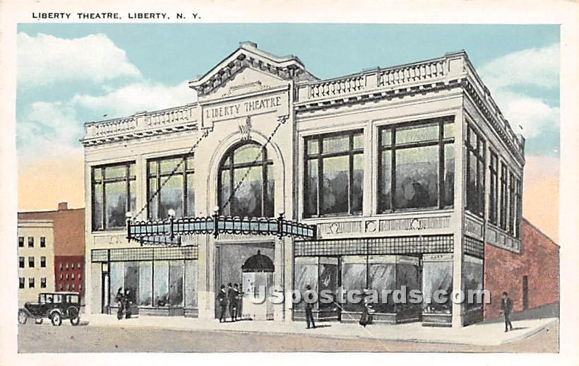 Liberty Theatre - New York NY Postcard