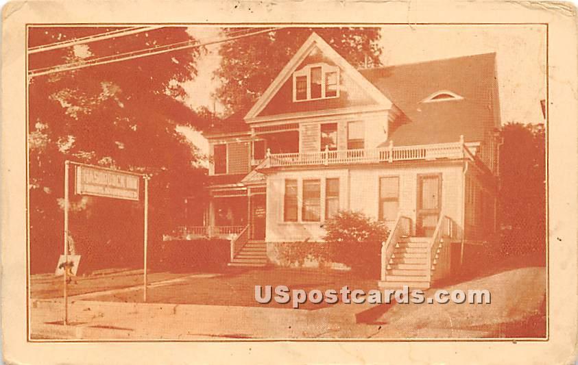The Tourists' Inn - Liberty, New York NY Postcard