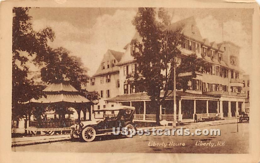 Liberty House - New York NY Postcard