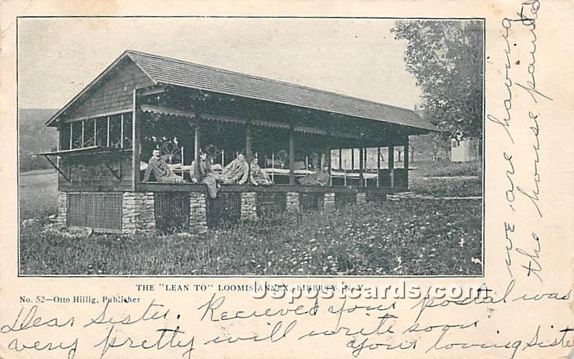 The Lean To Loomis Annex - Liberty, New York NY Postcard