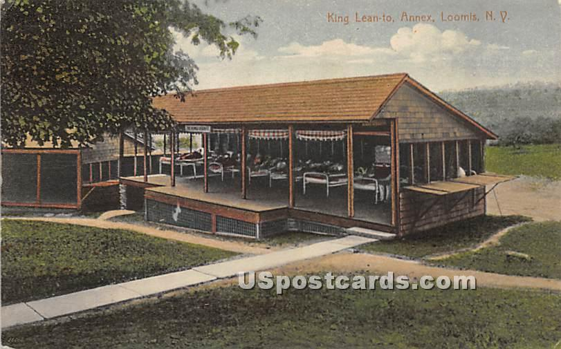 King Lean To Annex - Loomis, New York NY Postcard