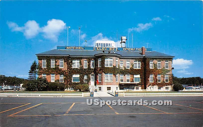 Mitchel Air Force Base, Operations Building - Long Island, New York NY Postcard