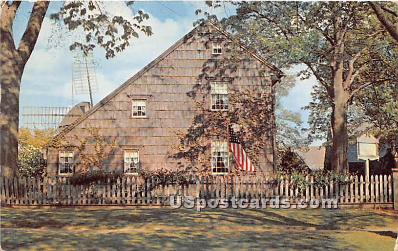 John Howard Payne was Born Here - Long Island, New York NY Postcard