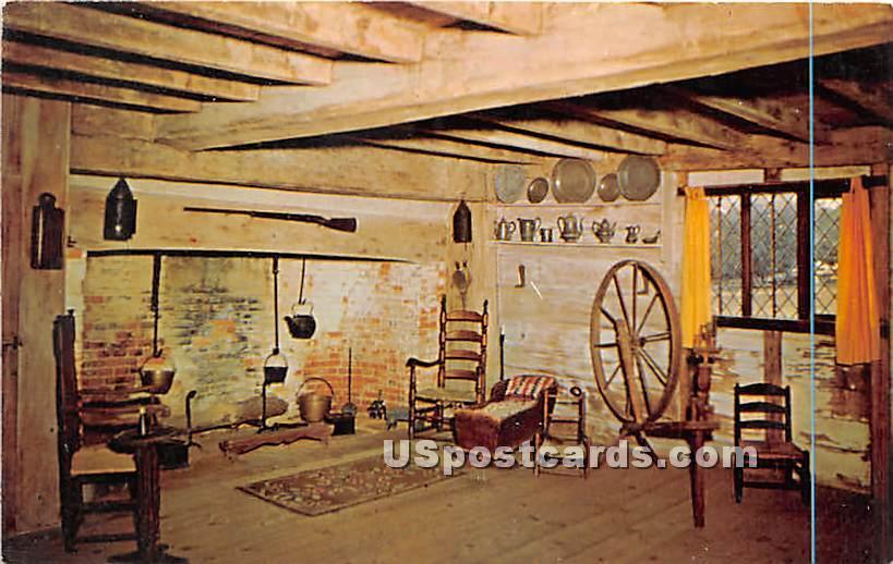 Old House, Built 1649 - Long Island, New York NY Postcard