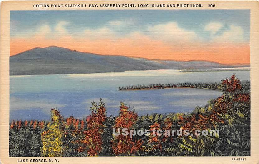 Cotton Point Kaatskill Bay - Long Island, New York NY Postcard