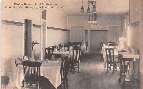 Dining Room Lyons, New York Postcard