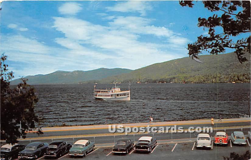 The Mohican - Lake George, New York NY Postcard