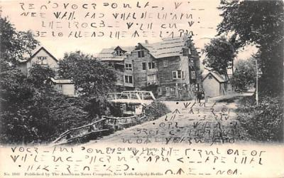 The Old Mill Liberty, New York Postcard