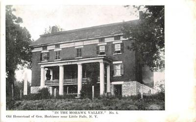 In the Mohawk Valley Little Falls, New York Postcard