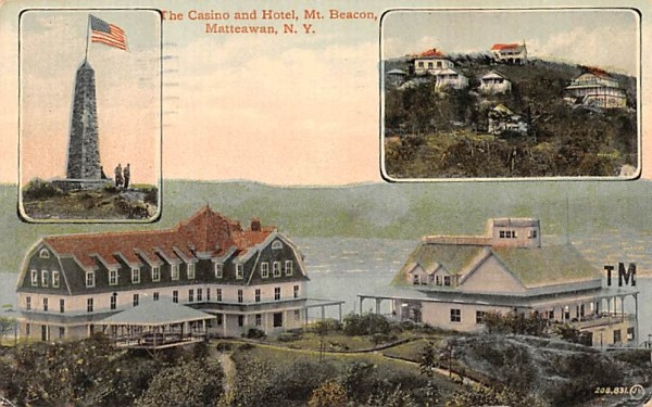 Casino and Hotel Matteawan, New York Postcard