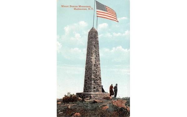 Mount Beacon Monument Matteawan, New York Postcard