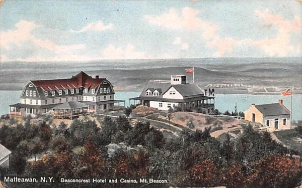 Beaconcrest Hotel & Casino Matteawan, New York Postcard