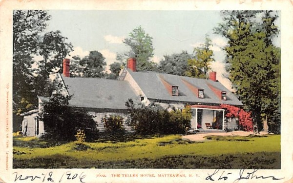 Teller House Matteawan, New York Postcard