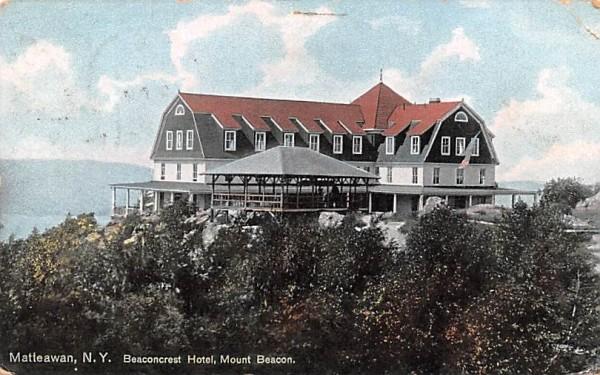 Beaconcrest Hotel Matteawan, New York Postcard