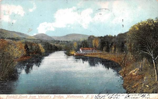 Fishkill Creek Matteawan, New York Postcard